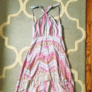 Size 0 BCBG flirty summer dress
